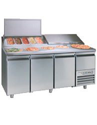Pizza Makeline Refrigeratorer